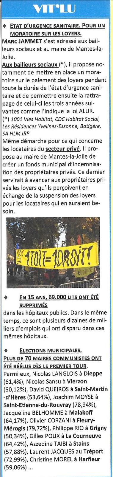 Mantes-la-Jolie. L'opinion des communistes (n° 87).