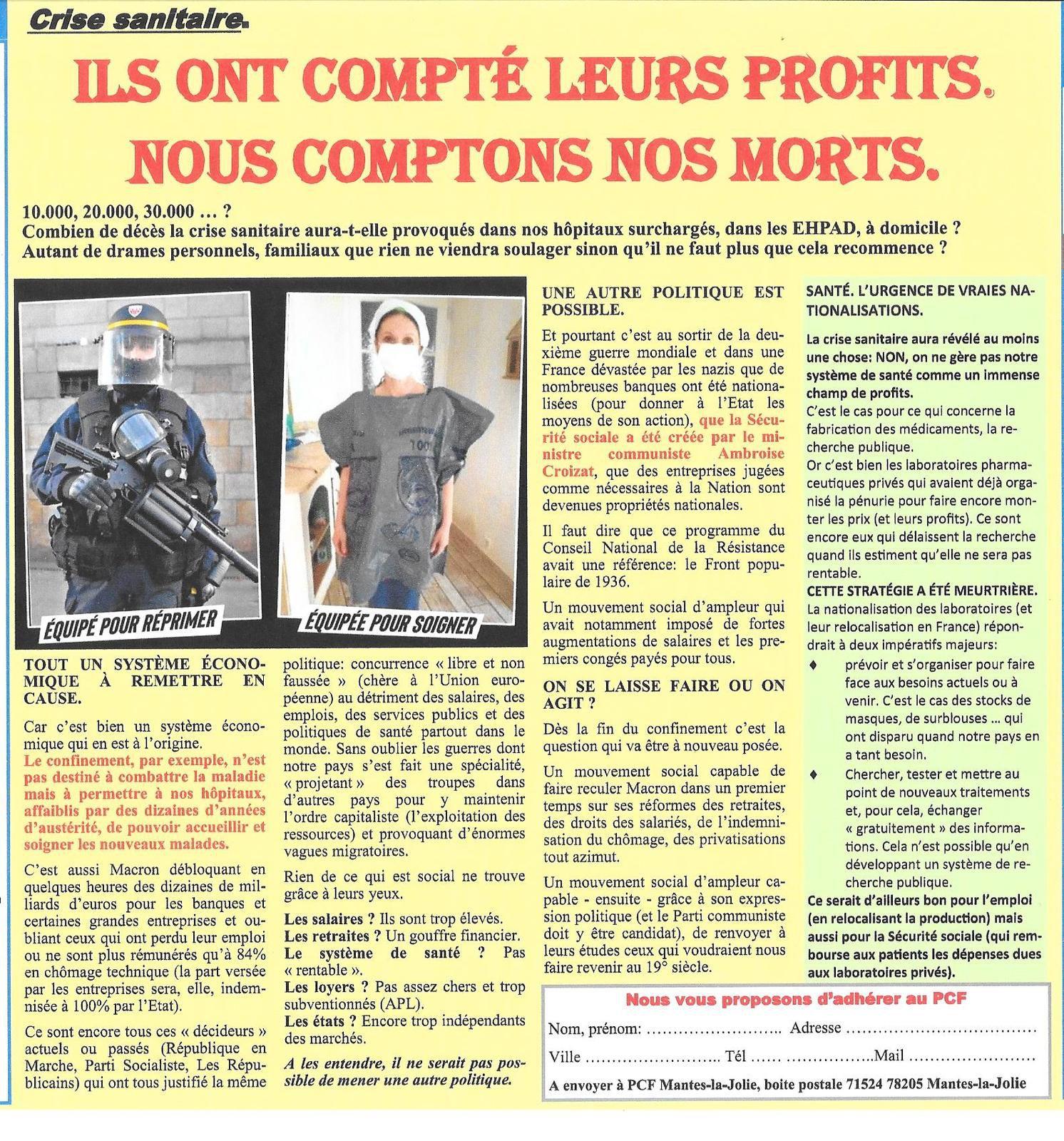 Mantes-la-Jolie. L'opinion des communistes (n° 87).