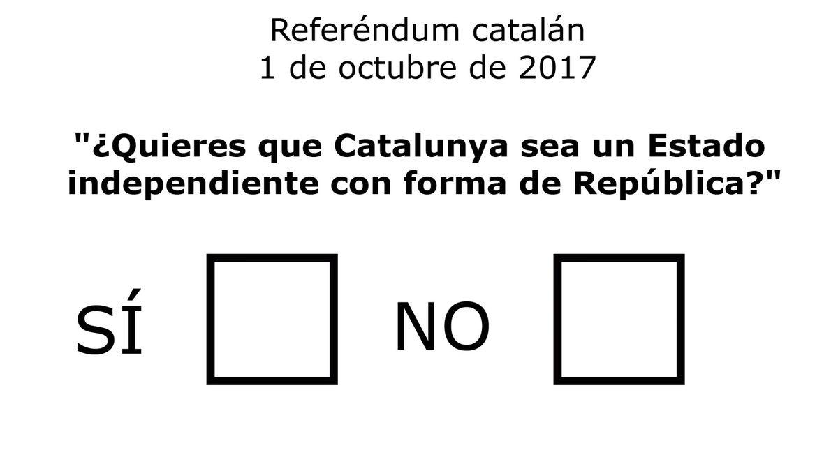 Motivos para el Referéndum del 1-O