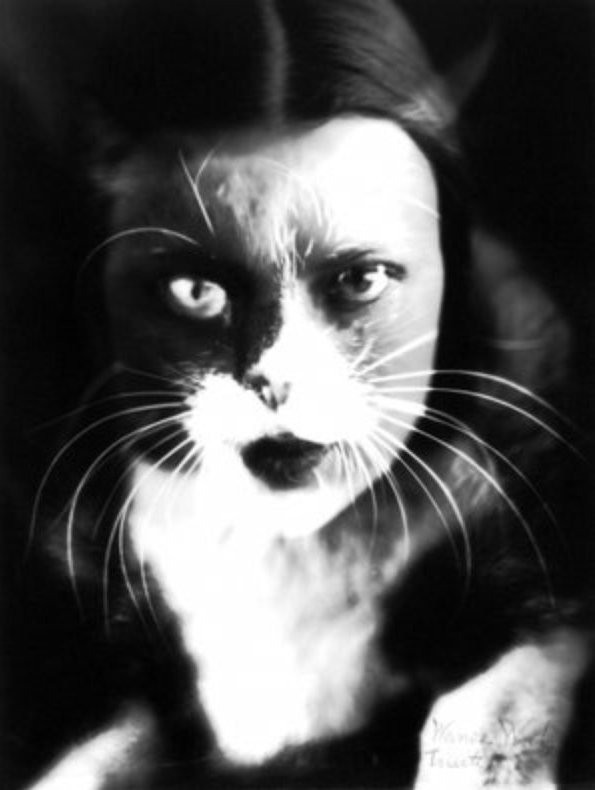""" Moi + Chat "", 1932"