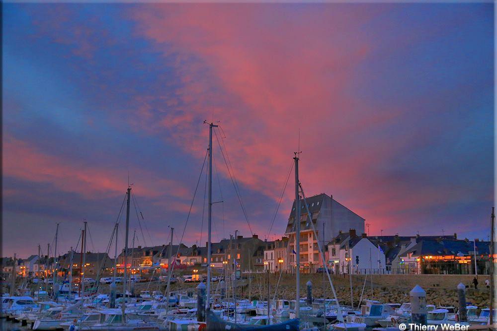 Port de La Turballe - Crépuscule 3 Avril 2017