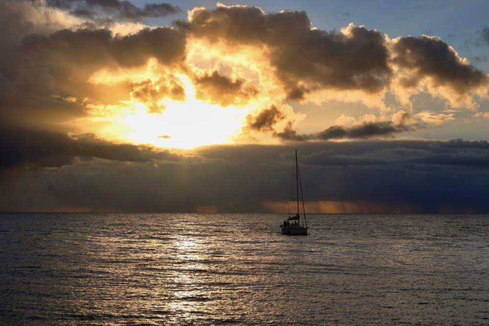 Les ciels de Novembre en Bretagne Sud