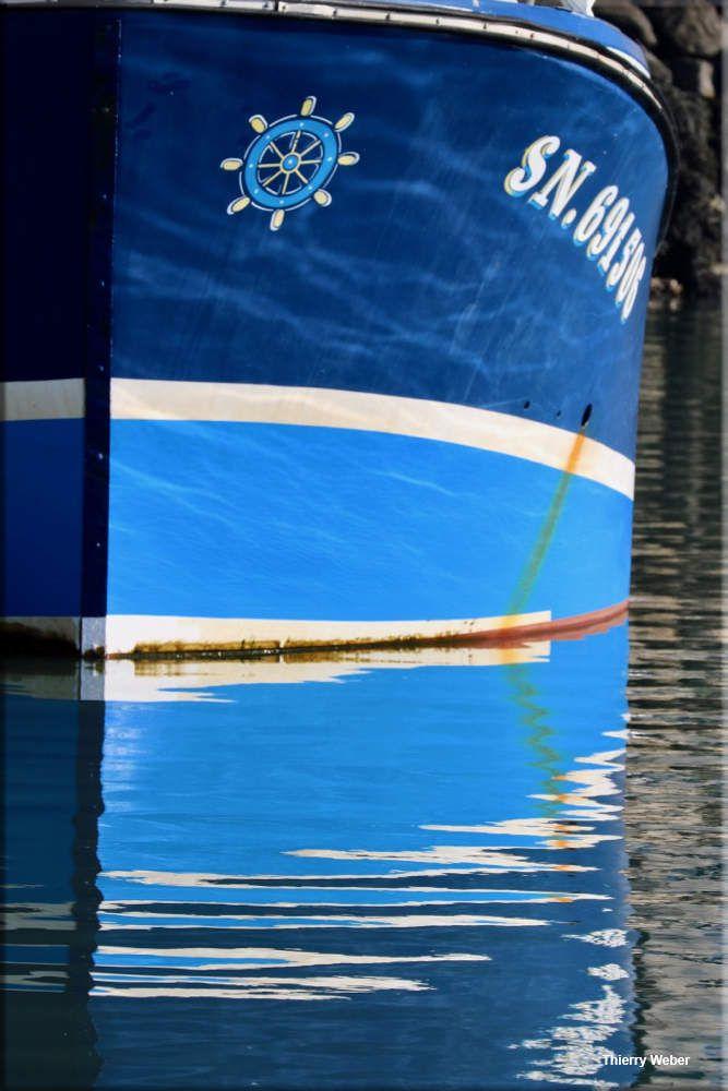 La vie du Port de Pêche de La Turballe - Reflets des chalutiers