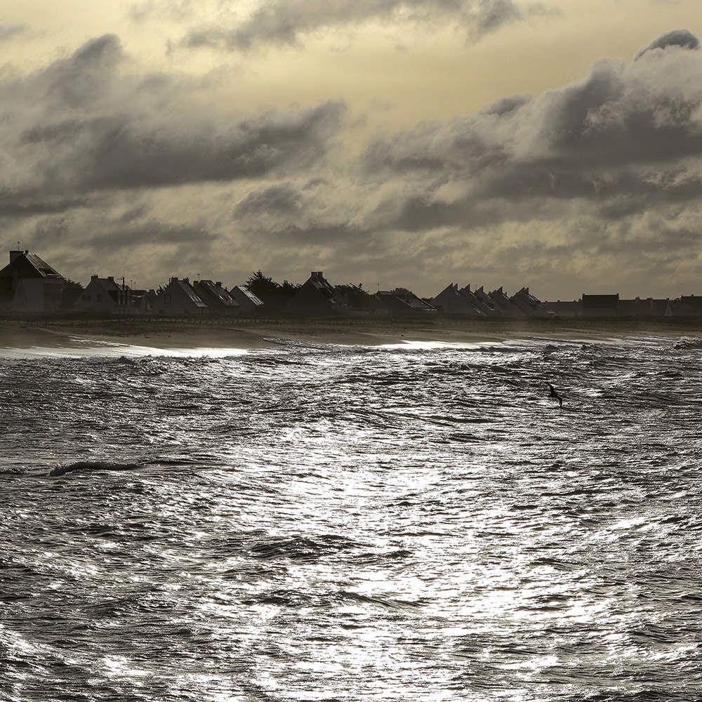 Océan atlantique au carré