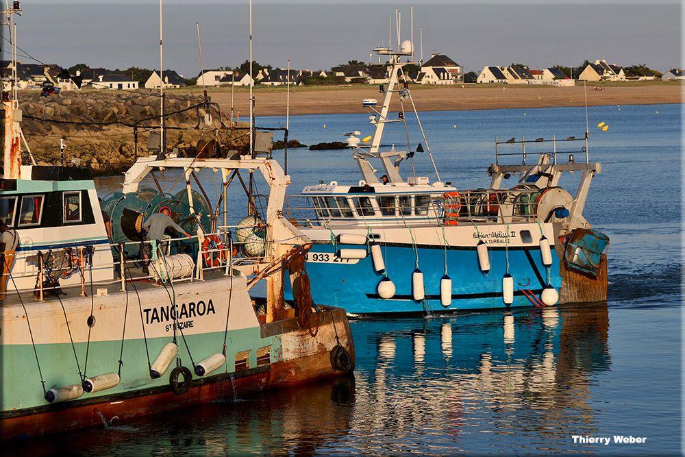 Vues sur le Port de Pêche de La Turballe - série 3