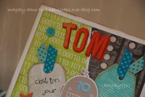 Cartes {anniversaire} Tom et Romane