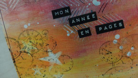 """Echange mensuel 2018 """"Une page A4 en un mot"""" - Page de garde"""