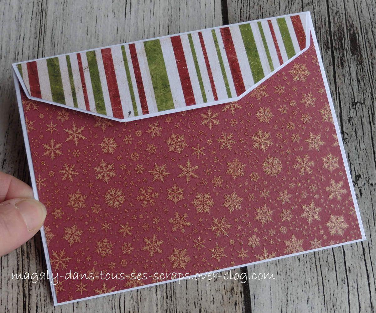 Enveloppes de Noël {Série 1}