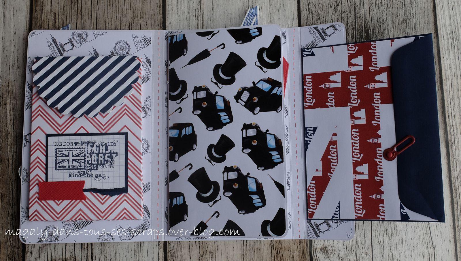 Pochette Road Book {Londres} - Version 1