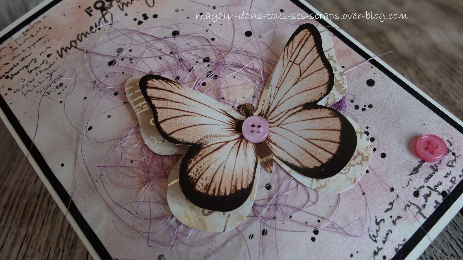 Cartes aquarelles {Papillons}