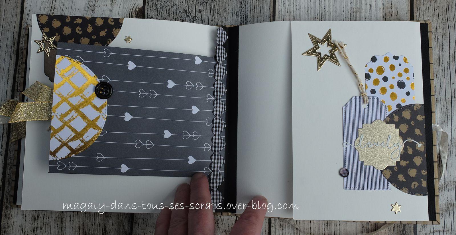 Album {Chats Amoureux} et sa boîte carrée