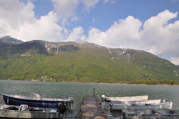 quelques minutes au bord du lac au Bout du Lac