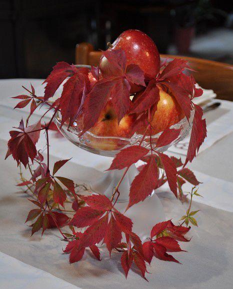ma table pommes en fête