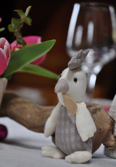 ma table de Pâques décalé au 08/04