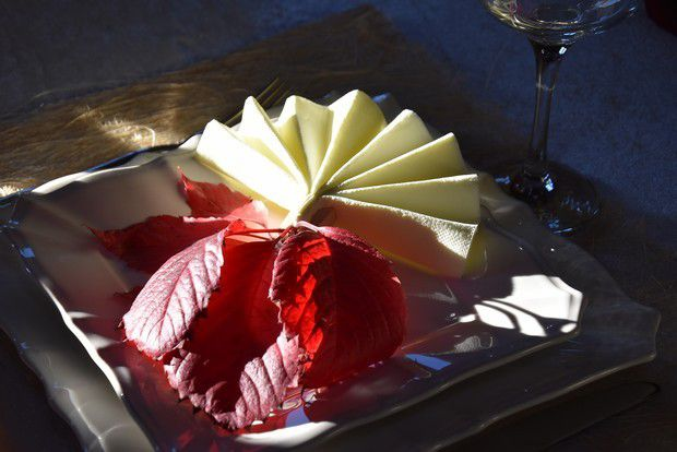ma table bonjour l'automne