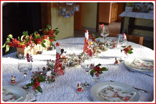 ma table Noël 2018