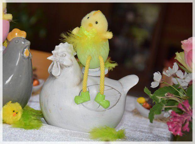 la table de Pâques