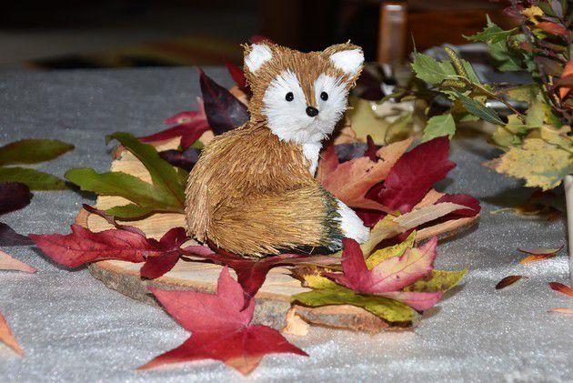ma table feuilles d'automne