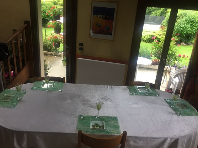 ma table fête des mère mais distanciation 2020....