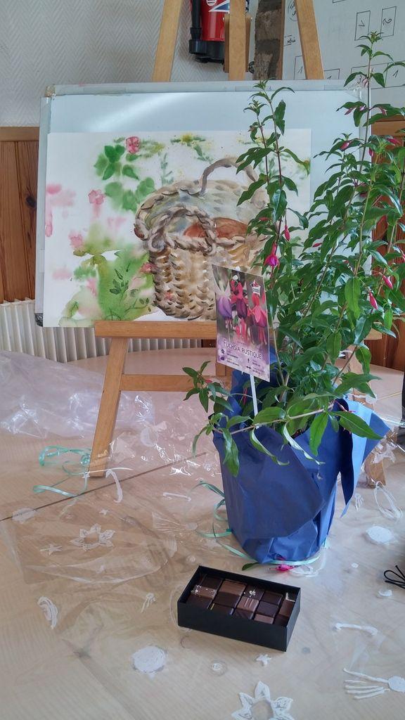 peinture de Martine, Chantal, Claire,Annie.......Annick, Isabelle, Nicole,Jacqueline ....