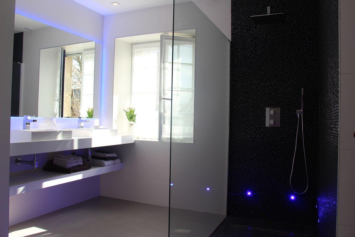 Moderniser Salle De Bain rénovation d'une salle de bain : moderniser et éclairer - a
