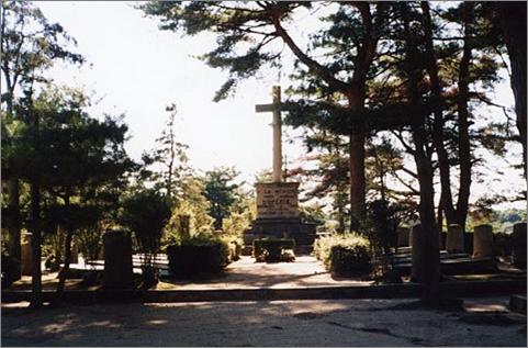 Le carré militaire français de Kobé, au Japon.
