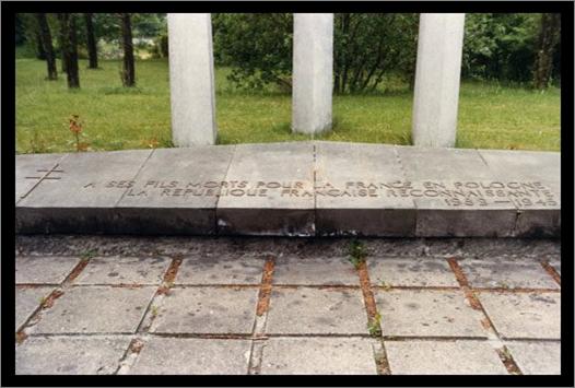 Le cimetière militaire français de Gdansk, en Pologne.