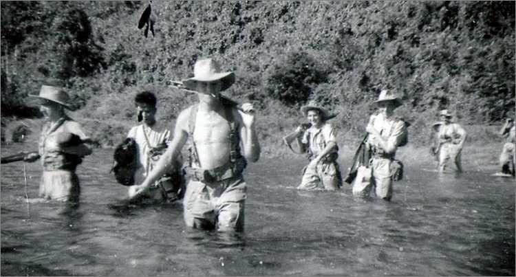 Paras du 1er RCP pendant l'Opération Léa.