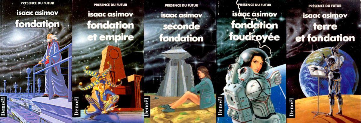 """Le cycle de """"Fondation"""" (cette édition n'est plus disponible)"""