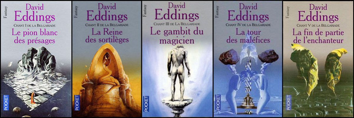 La Belgariade, de David et Leigh Eddings aux éditions Pocket