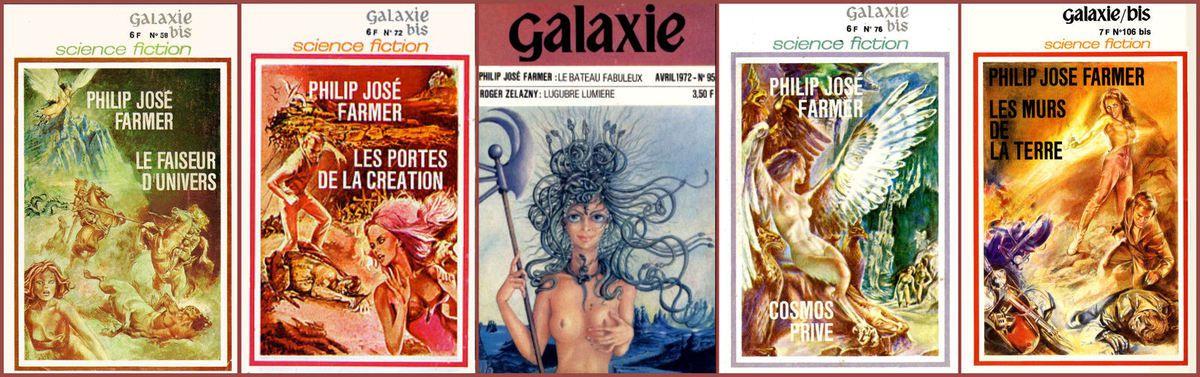 Philip José FARMER in Revue Galaxie & Collection Galaxie Bis