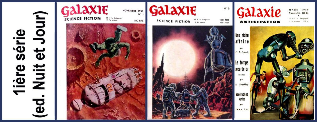 Galaxie: collection complète