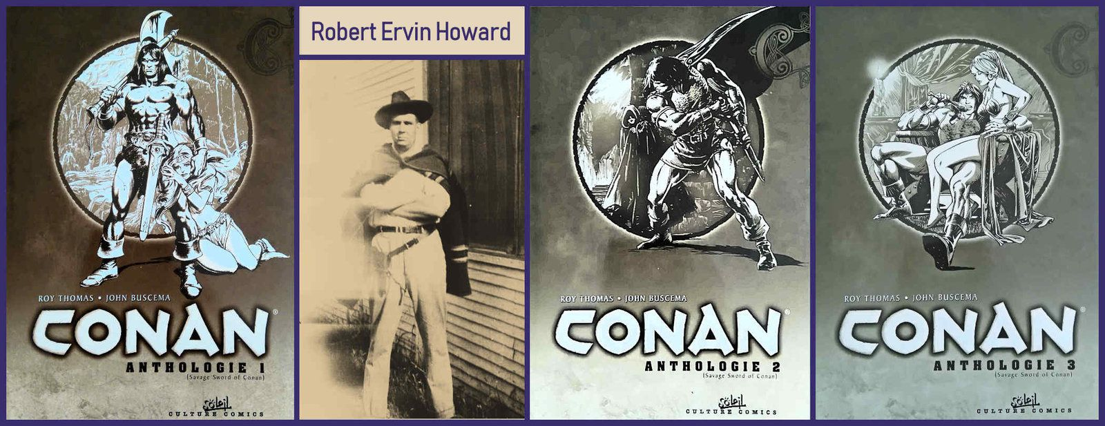 CONAN (Anthologie 1, 2, 3)