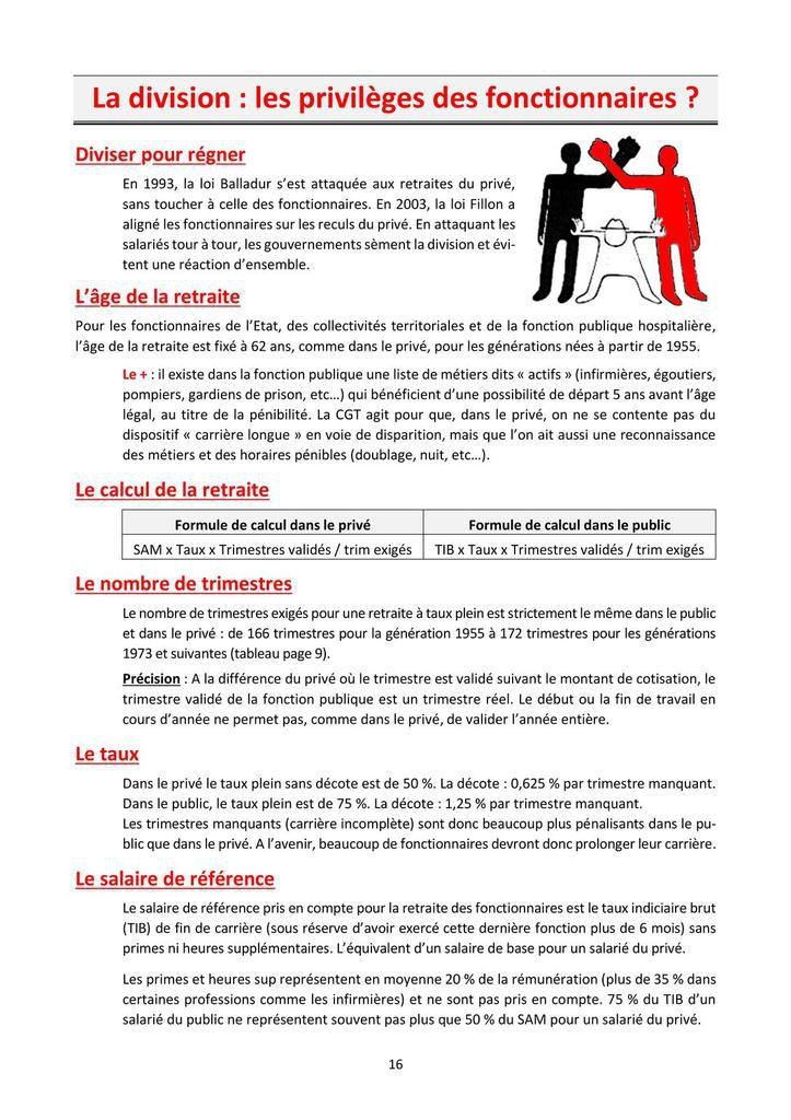 Guide CGT sur ma (future) retraite