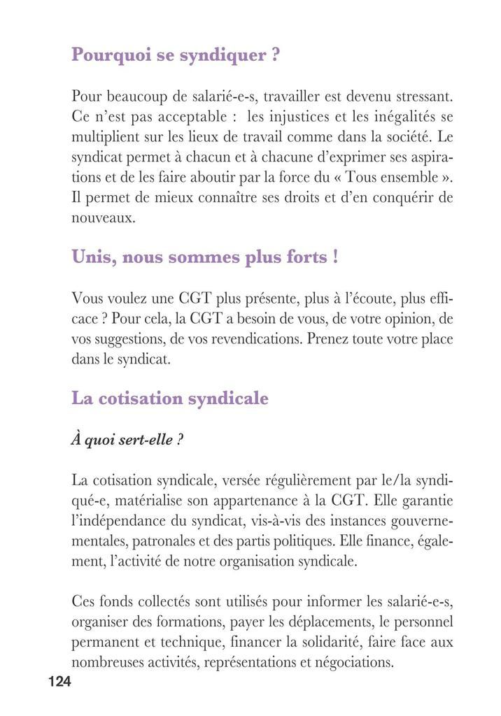 Guide CGT droits des saisonniers