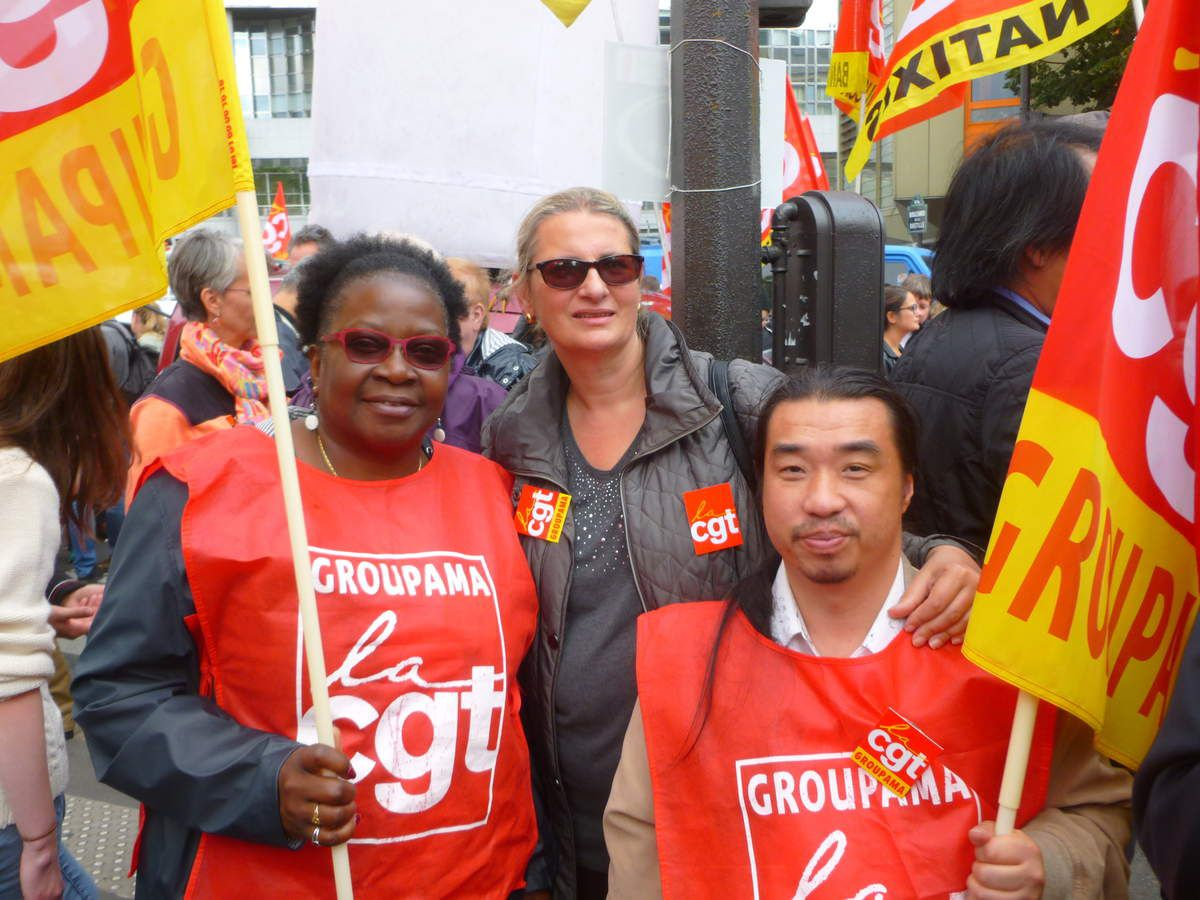 400 000 manifestants en France contre la loi travail XXL Les CGT Groupama aux manifs de Paris et de Strasbourg