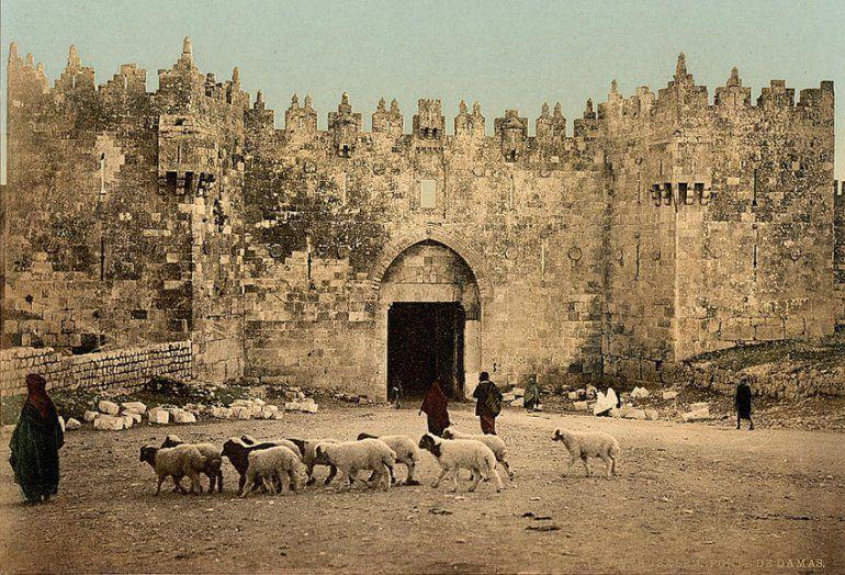 Jérusalem. Porte de Damas