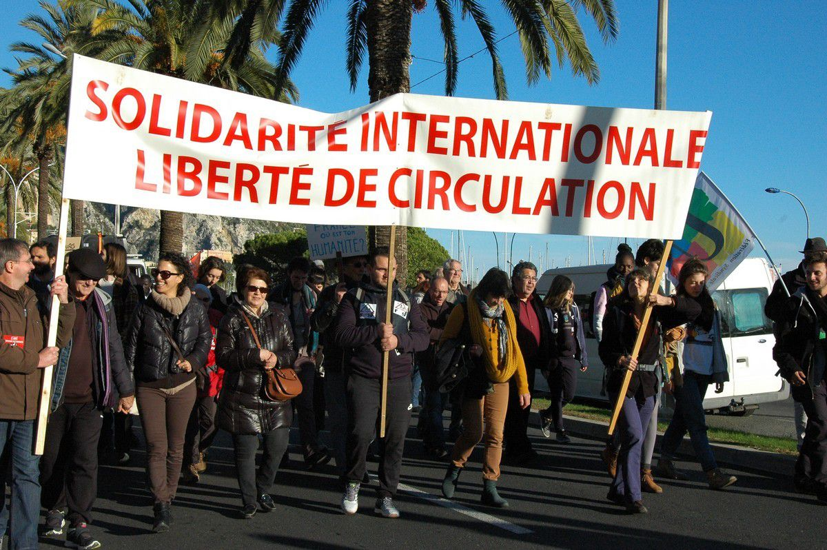 Solidarité internationale, liberté de circulation