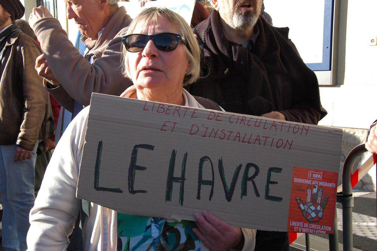 Liberté de circulation et d'installation. Le Havre