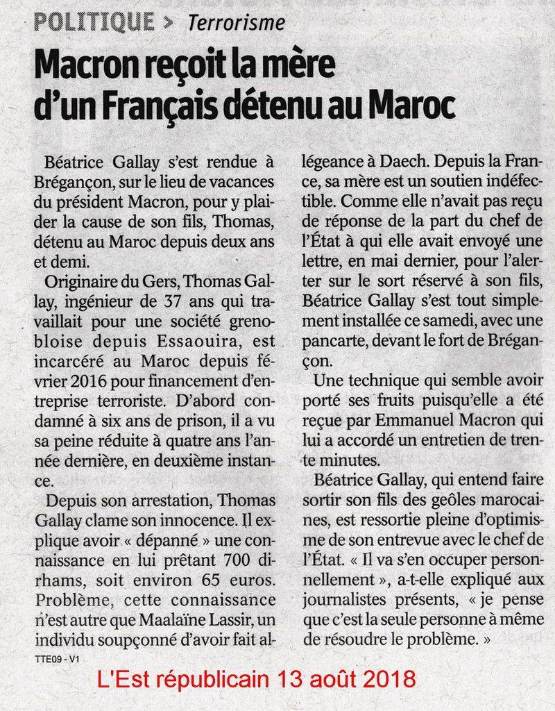 Et Emmanuel Macron n'a toujours pas reçu la famille de Salah Hamouri !!
