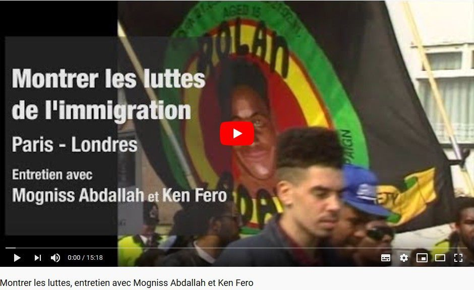 Documenter les luttes de l'immigration. Regards croisés entre la France et l'Angleterre