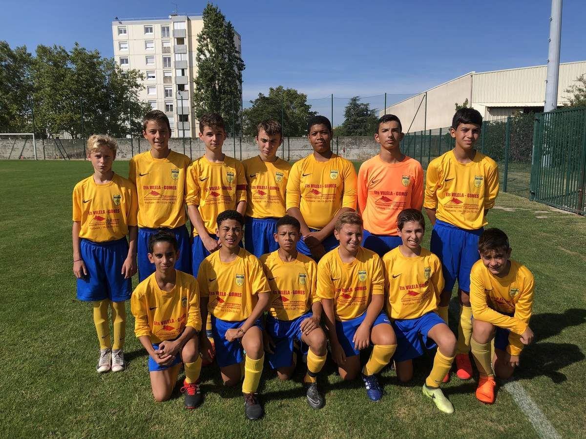U15 : Le championnat est bien lancé !