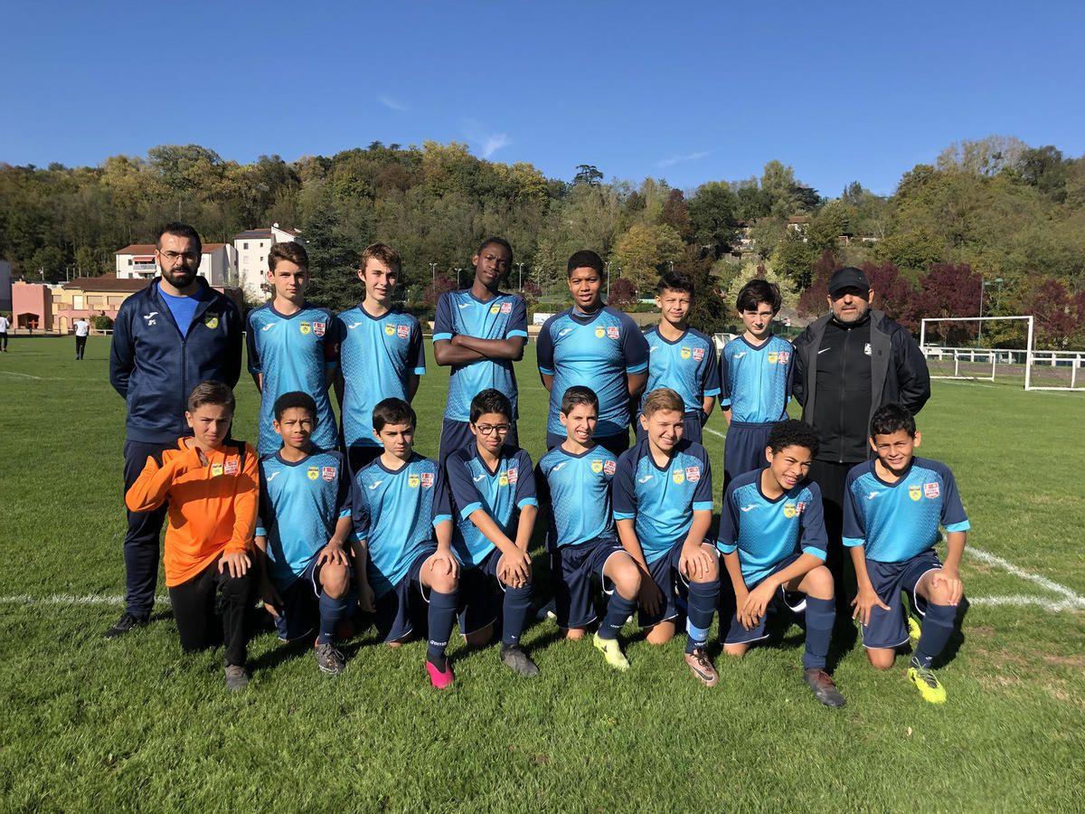 Coupe du Rhône: les U15 se sont bien battus
