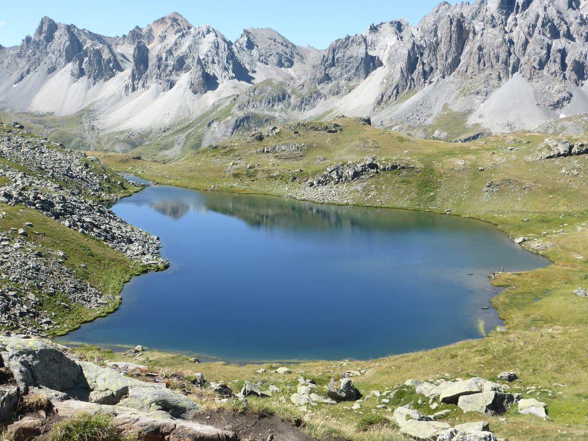 Séjour à Névache Jour 2: Chalet Laval, Lac Long, Lac Rond, Lac des Muandes, Col des Muandes,Refuge des Drayères.