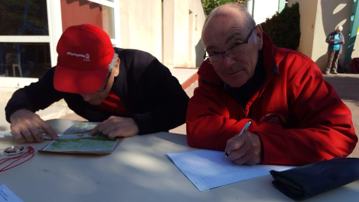 Rando Challenge du Vaucluse à PEYPIN D'AIGUES le 22 avril 2017