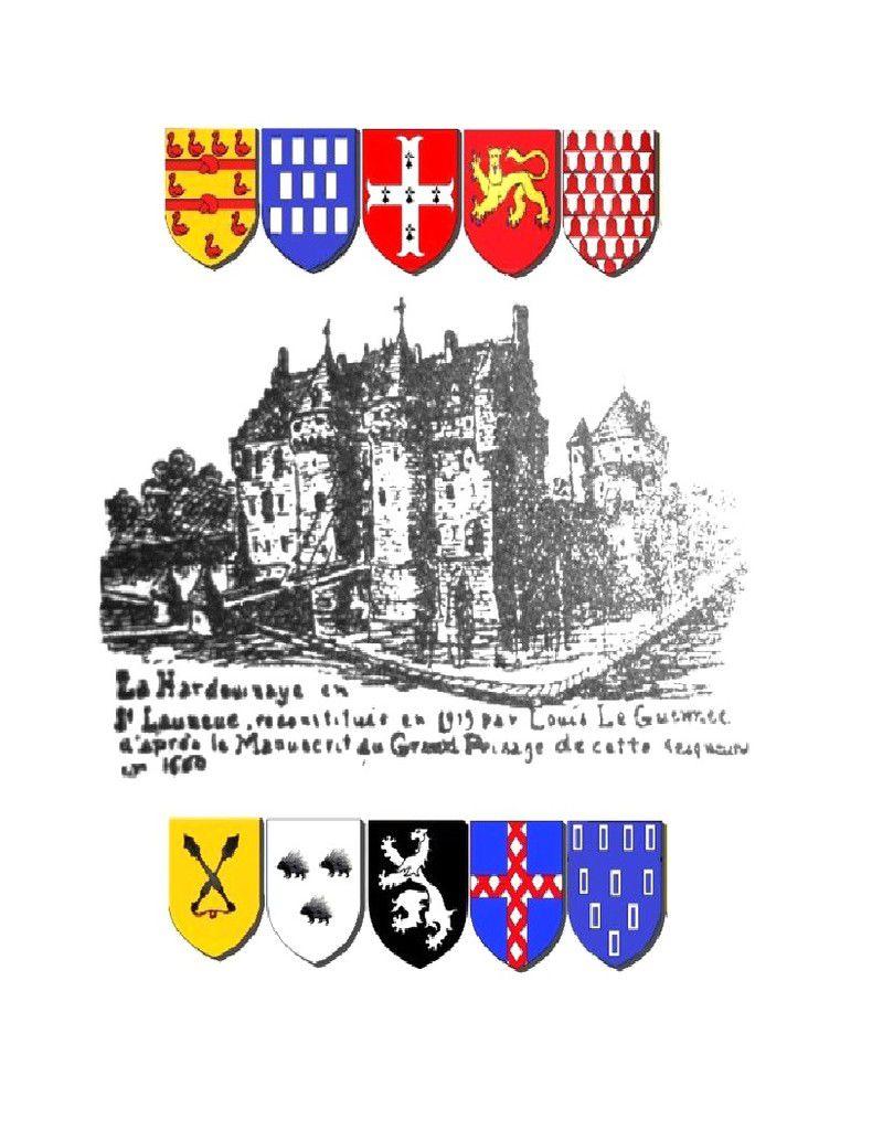 Le château de la Hardouinaye en Saint Launeuc