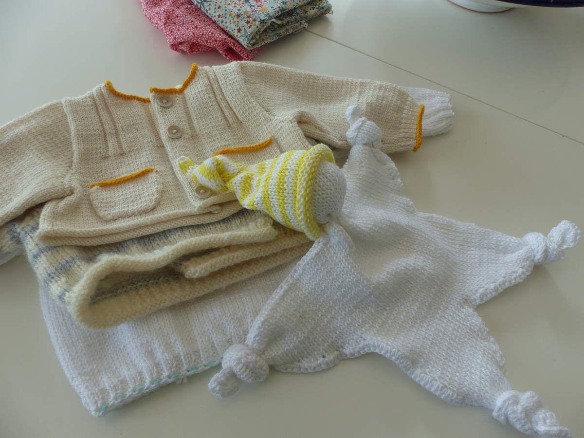 """Derniers tricots """"petit modèle""""."""