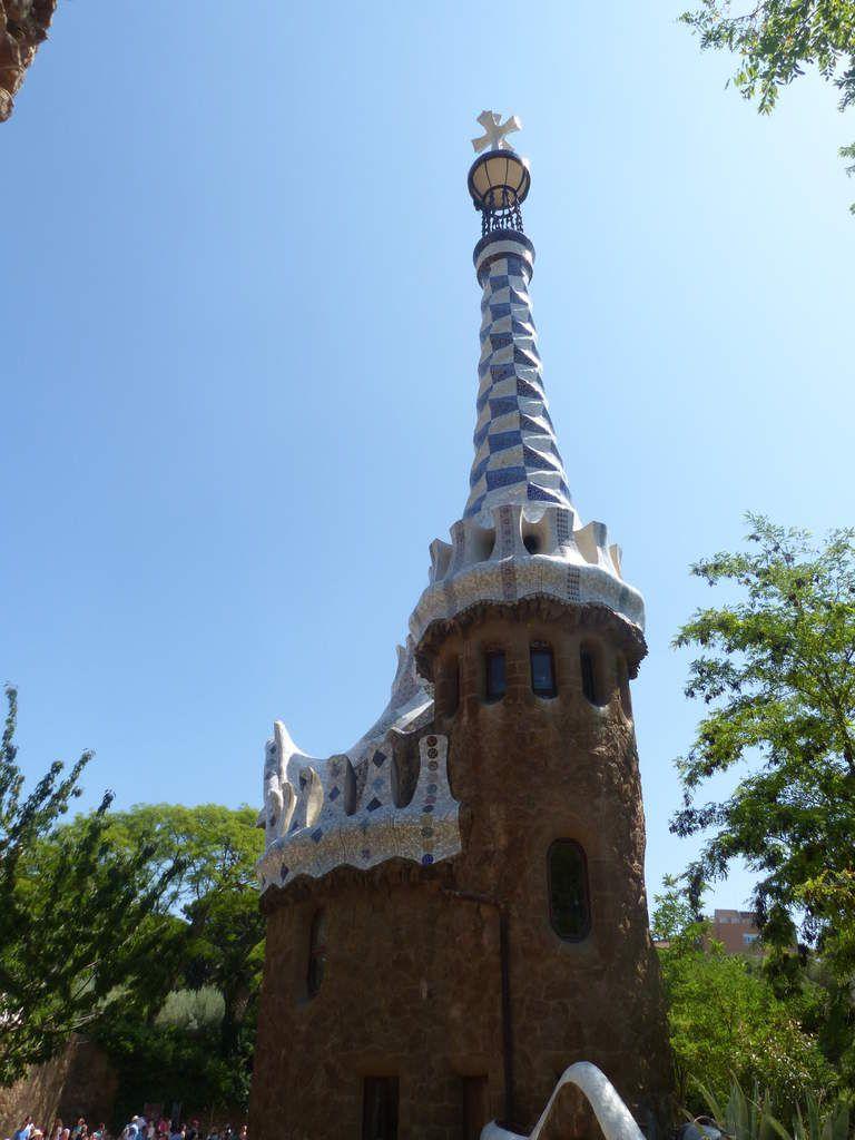 Visite au Park Güell.
