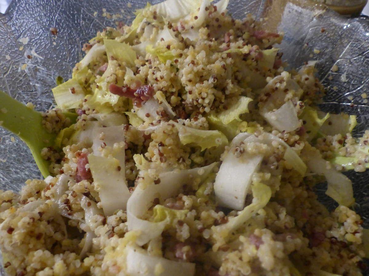 Semaine pré-Noël, salade améliorée.
