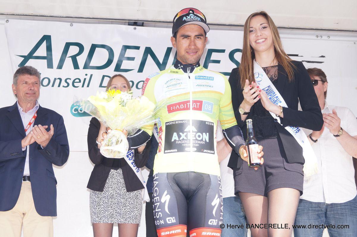 A Vantomme la 3e étape, Narvaez Prado en jaune à FLOING